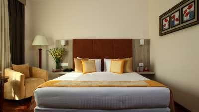 Rooms at Nidhivan Sarovar Portico Vrindavan, best rooms in mathura 4