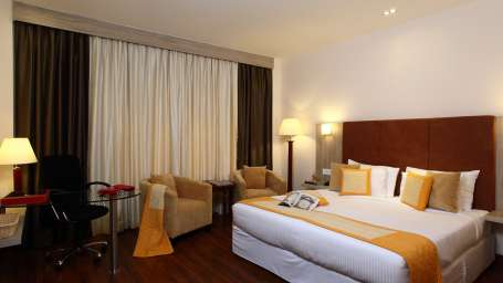Rooms at Nidhivan Sarovar Portico Vrindavan, best vrindavan hotels 2