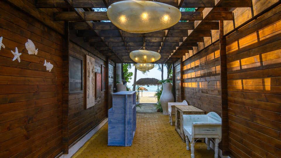 LaRiSa Beach Resort Goa - Lobby View - Near Morjim Beach