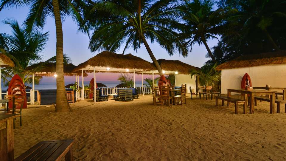 Trip Resto Bar at LaRiSa Beach Resort in Goa 1