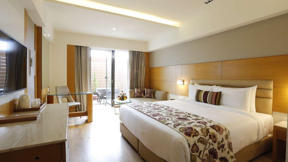 Deluxe Rooms in Jhansi with Private Balcony at Natraj Sarovar Portico Jhansi
