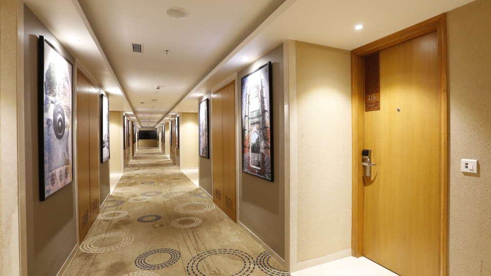corridoor at Nataraj Sarovar Portico Jhansi, Best hotels in Jhansi