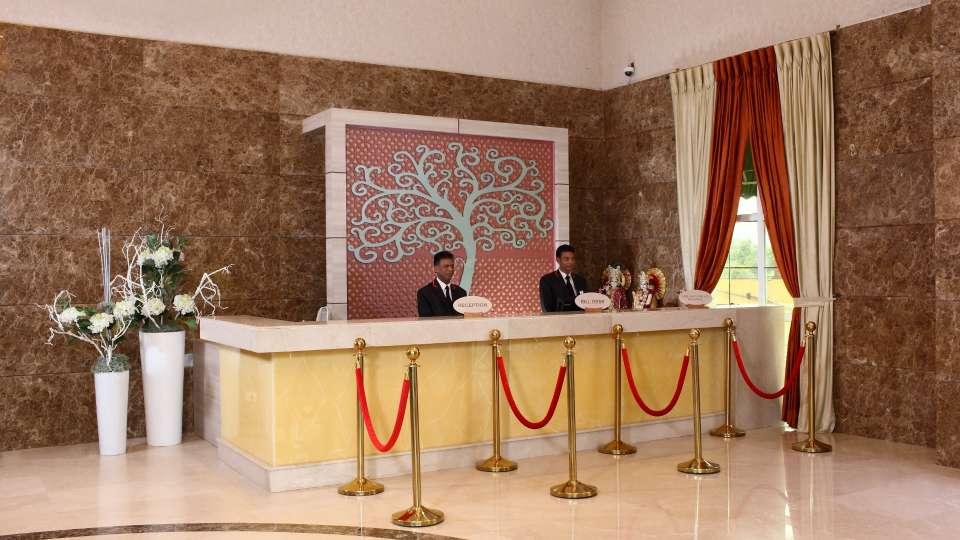 Reception Nidhivan Sarovar Portico Vrindavan