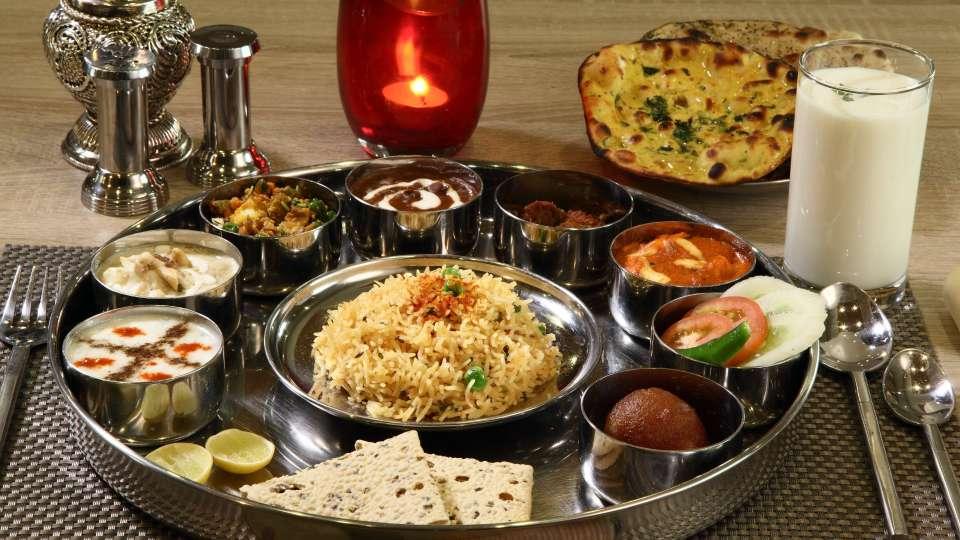 Vrindavan Restaurant Nidhivan Sarovar Portico Restaurant In Vrindavan 3