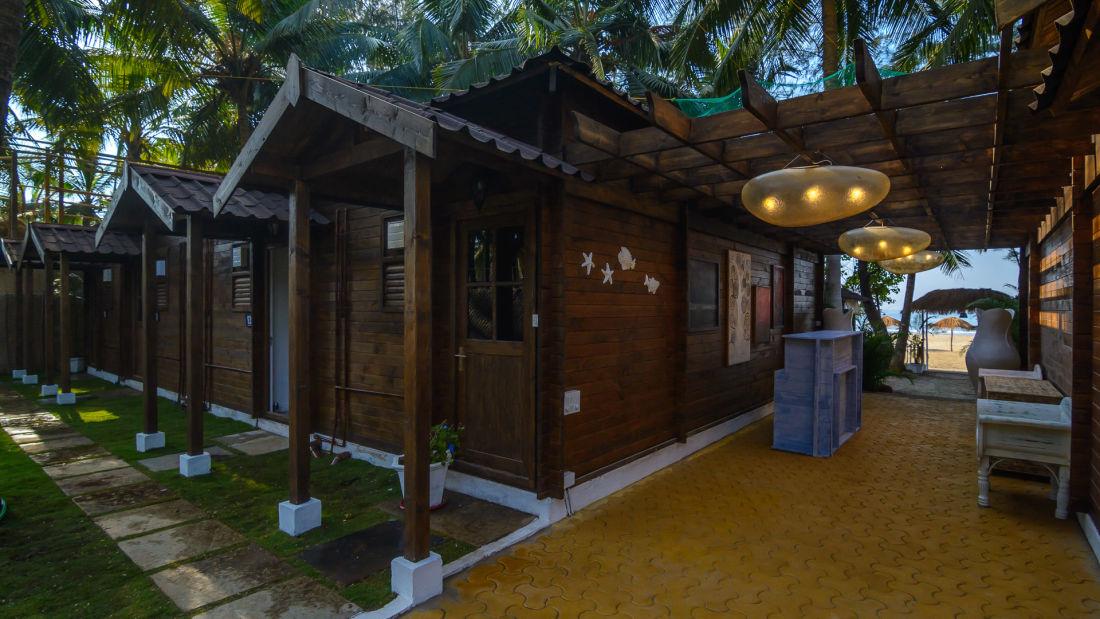 LaRiSa Beach Resort Goa - Exteriors Daytime