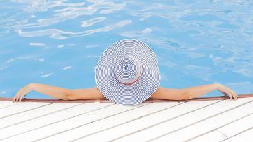 Swimming Pool at our Satpura National Park Resort