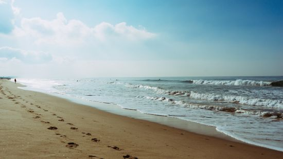 sea-beach-footprint-steps-5342