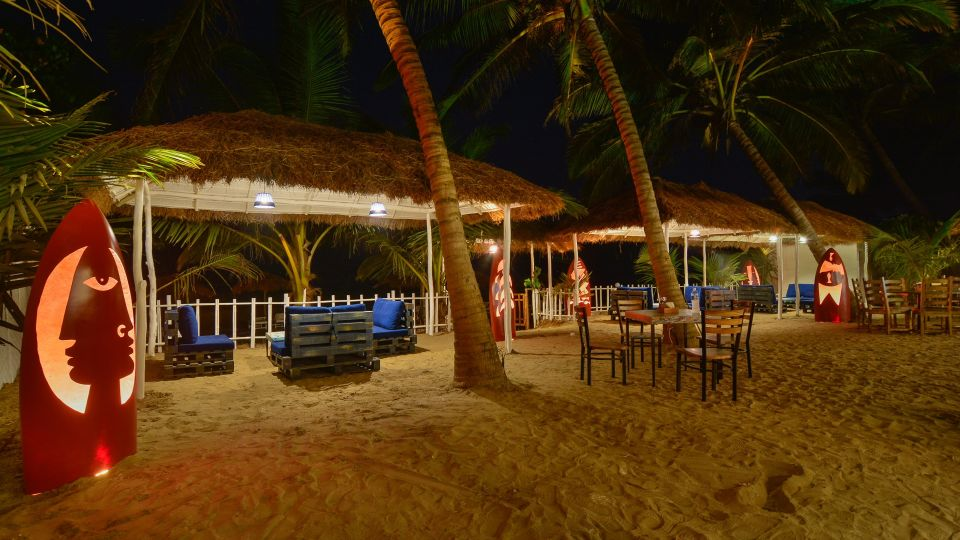 Trip Resto Bar at LaRiSa Beach Resort in Goa 5