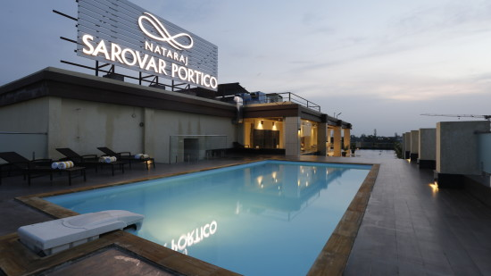 Swimming Pool at Natraj Sarovar Portico Jhansi Luxury Hotels in Jhansi with Swimming Pool 2