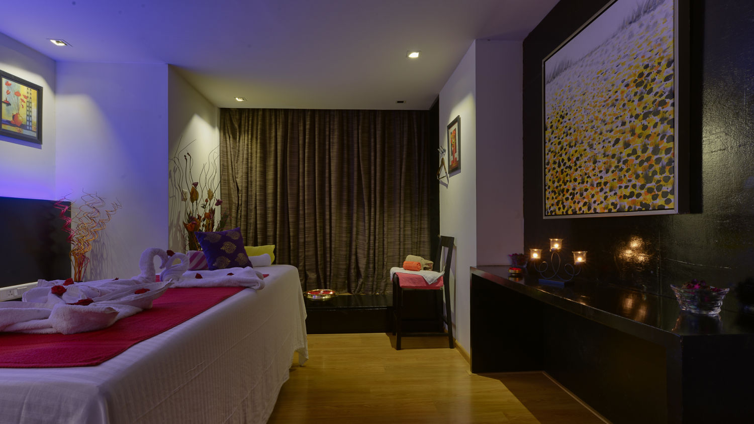SPA at Davanam Sarovar Portico Suites Bangalore