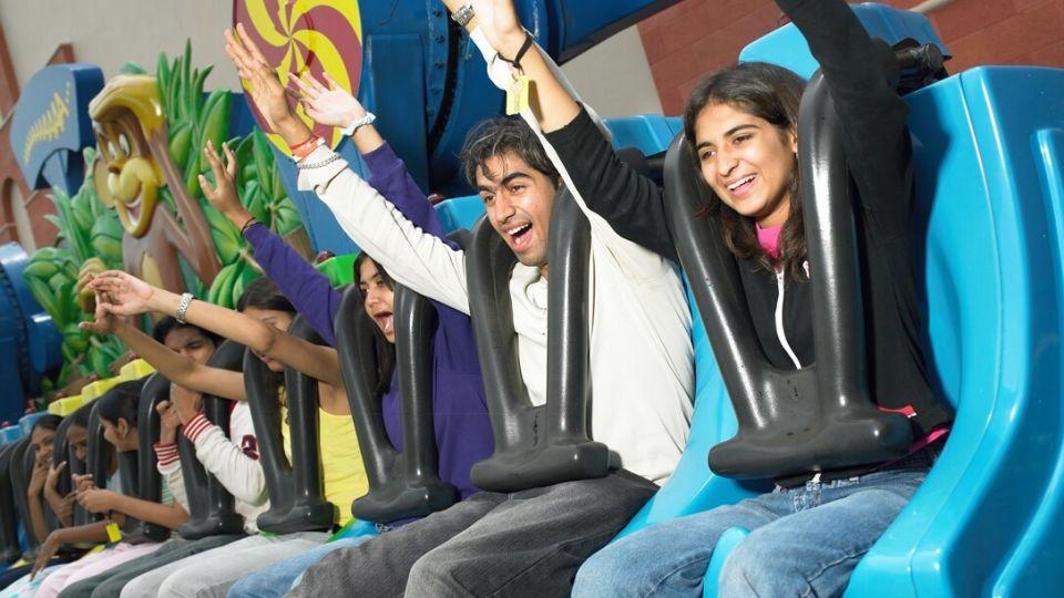 Thrillers Rides - Bamba at  Wonderla Amusement Park Bengaluru