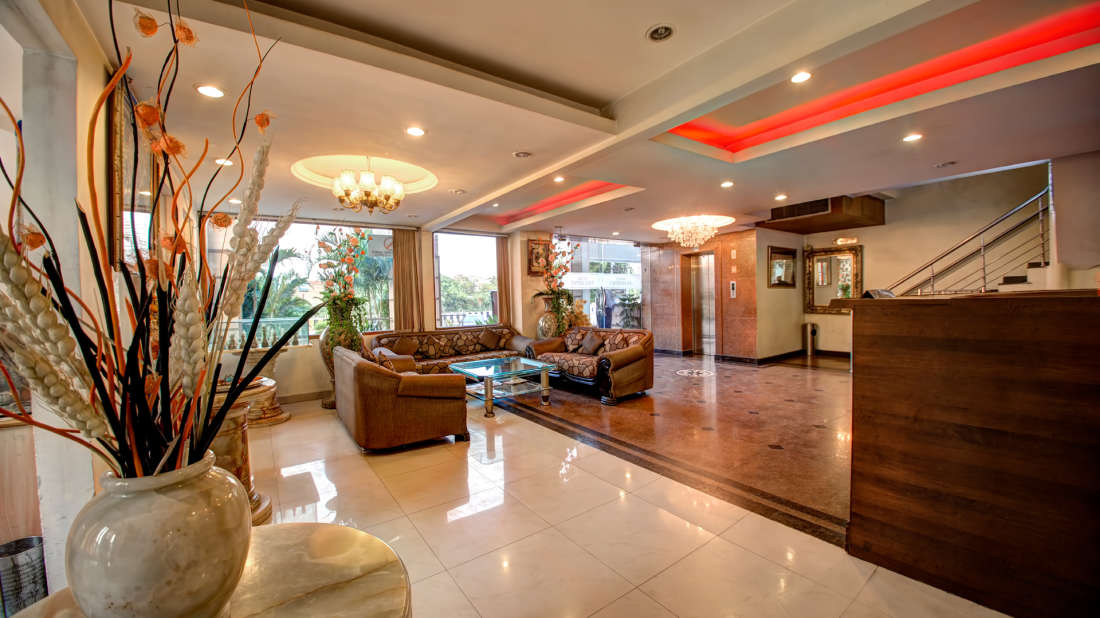 Hotel PR Residency        Amritsar reception-lobby -hotel pr residency-amritsar
