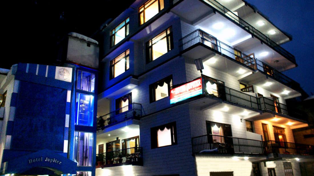 Hotel Jupiter, Manali Manali Night View
