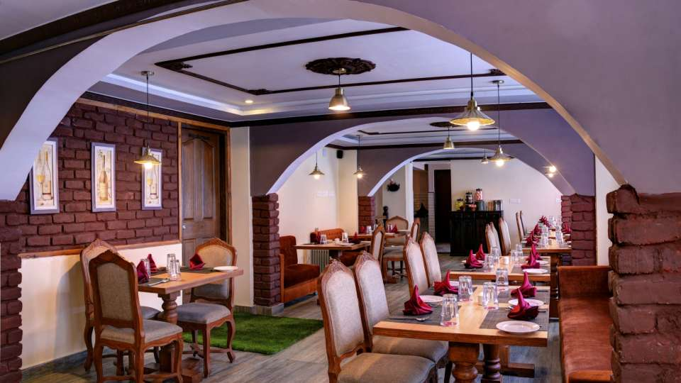 Dining at Summit Hermon Hotel Spa Darjeeling