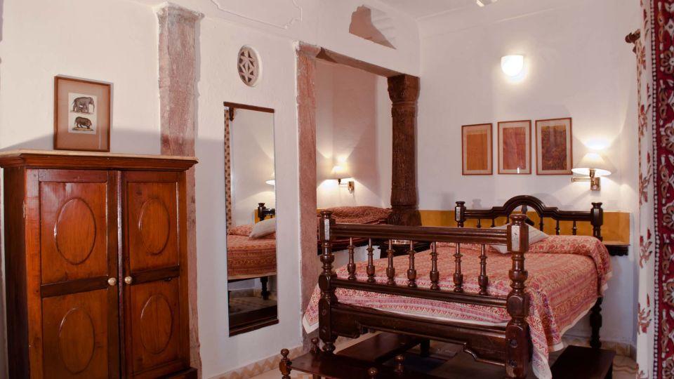 Neemrana Fort-Palace - 15th C, Delhi-Jaipur Highway Neemrana Chandan Mahal Hotel Neemrana Fort Palace Neemrana Rajasthan