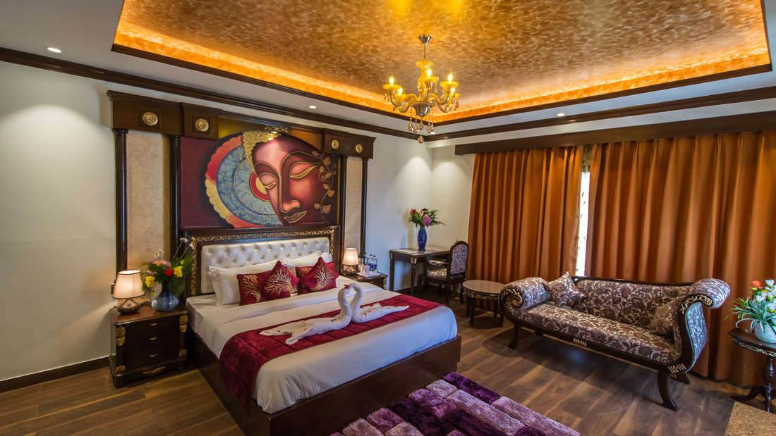Royal Suite Balcony at The Highland Park Manali 3