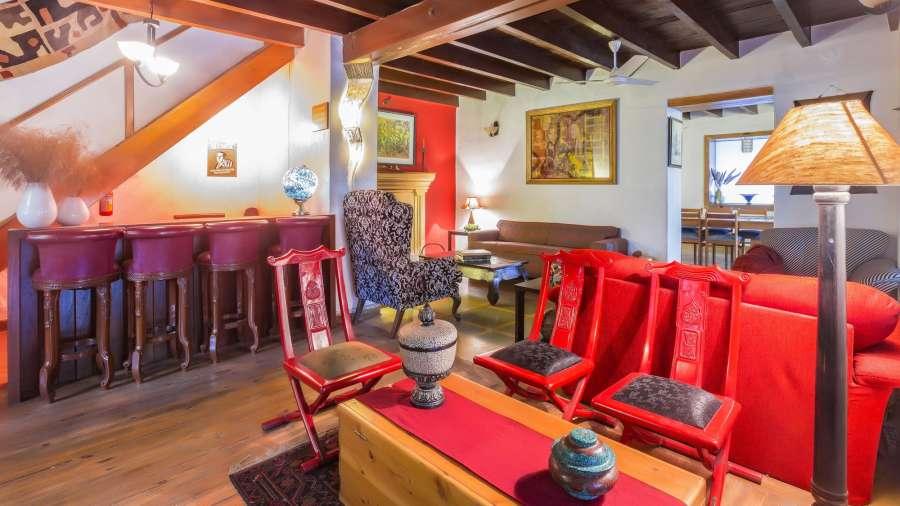 Living room, Bara Bungalow-Two chimneys, Gethia Resorts