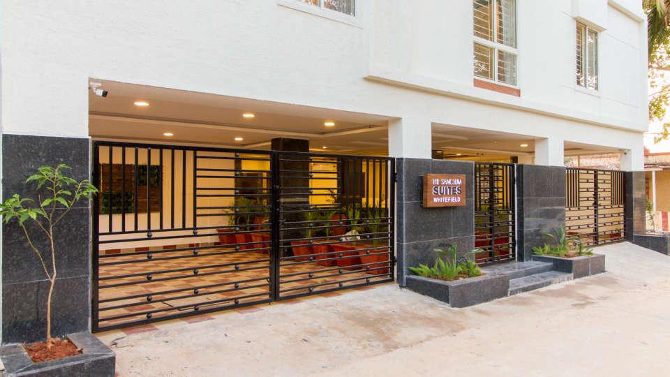 Facade The Sanctum Suites in Whitefield 1