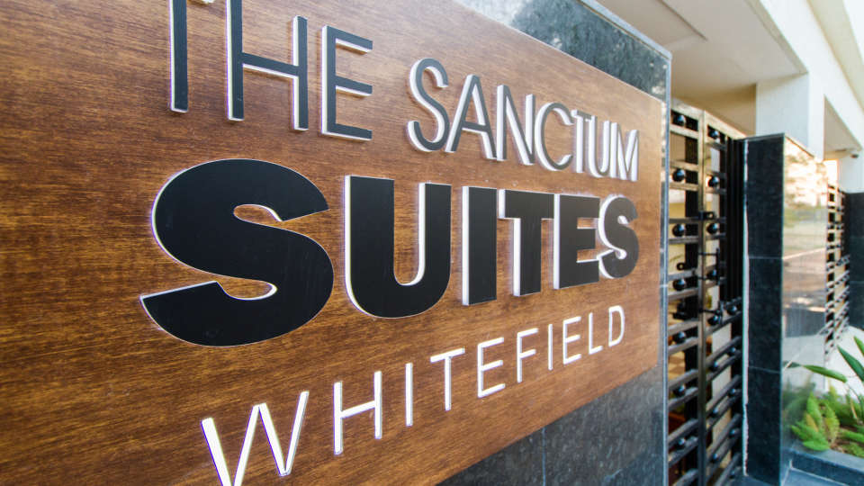 Facade The Sanctum Suites in Whitefield 4