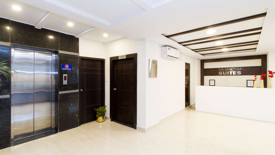 Reception and Lobby The Sanctum Suites in Whitefield 10