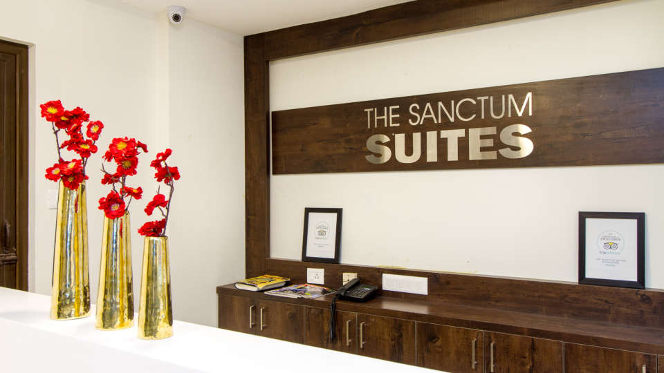 Reception and Lobby The Sanctum Suites in Whitefield 7