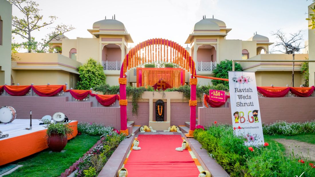 Destination Weddings in Manesar, Heritage Village Resort and Spa, Manesar 5