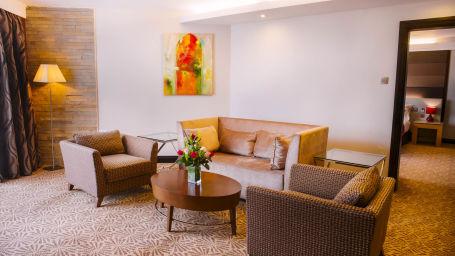 Business Suite Living Area