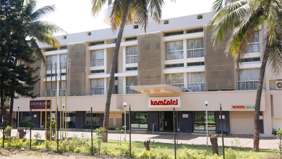 Exterior of one of the best hotels in Nashik