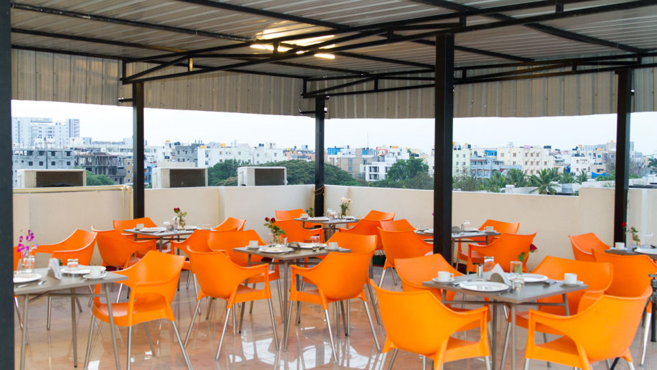 Dining The Sanctum Suites in Whitefield 5