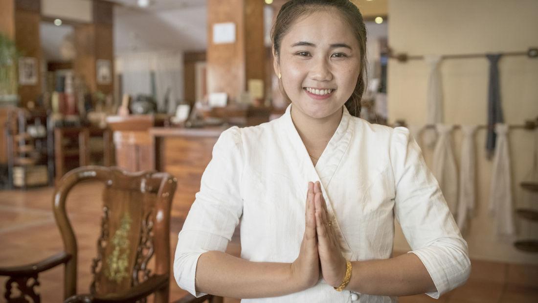 Pakse Hotel & Restaurant, Champasak Pakse Staff of Pakse Hotel Restaurant Champasak Laos 3