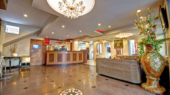 Lobby of Hotel PR Residency Amritsar - Hotels in Amritsar
