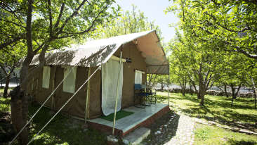 Yamunotri, Gangotri, Kedarnath & Badrinath uttarakhand Harsil Tent Exterior
