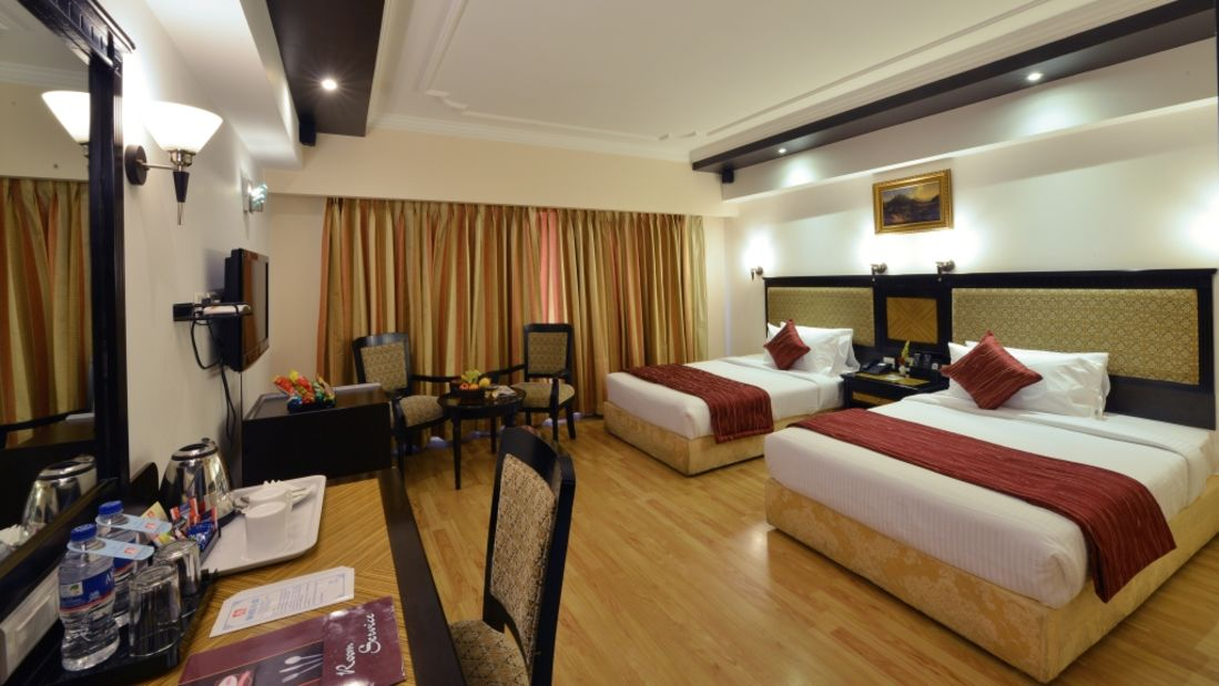 BUSINESS CLASS at Hotel SRM Trichy 1