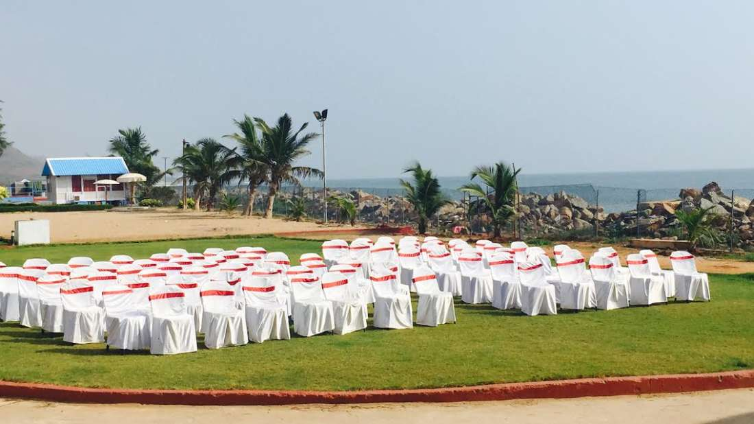 Lawn Sai Priya Beach Resort Vizag