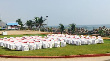 Lawn Sai Priya Beach Resort Vizag