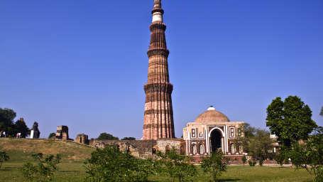 Qutub Minar near Le ROI Delhi Hotel Paharganj