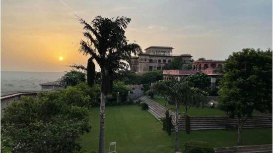 A Morning at TIjara from Rani Mahal