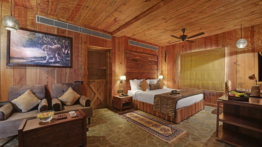 alt-text Ranthambore stay, luxury cottages in Baagh Ananta Elite 11