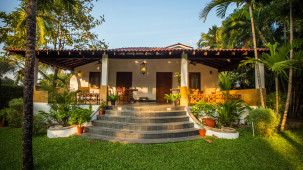 Entrance, Hamsa Villas Goa, Best Resort In Goa