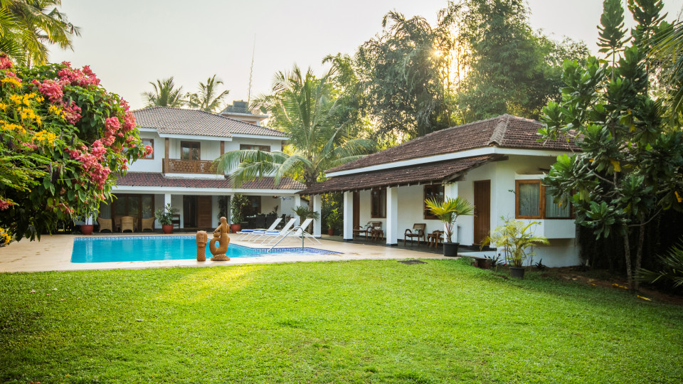 Pool, Hamsa Villas Goa, Best Resort In Goa 1