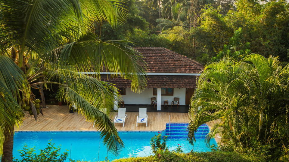 Pool, Hamsa Villas Goa, Best Resort In Goa 3