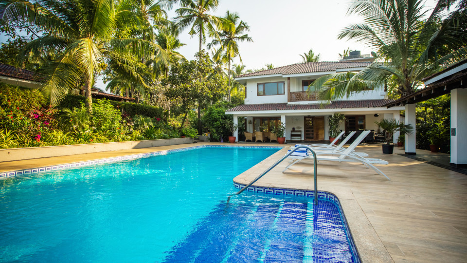 Hamsa Villas Goa, Best Resort In Goa, Pool