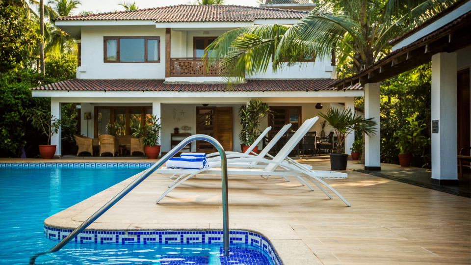 Hamsa Villas Goa, Best Resort In Goa, Pool 1