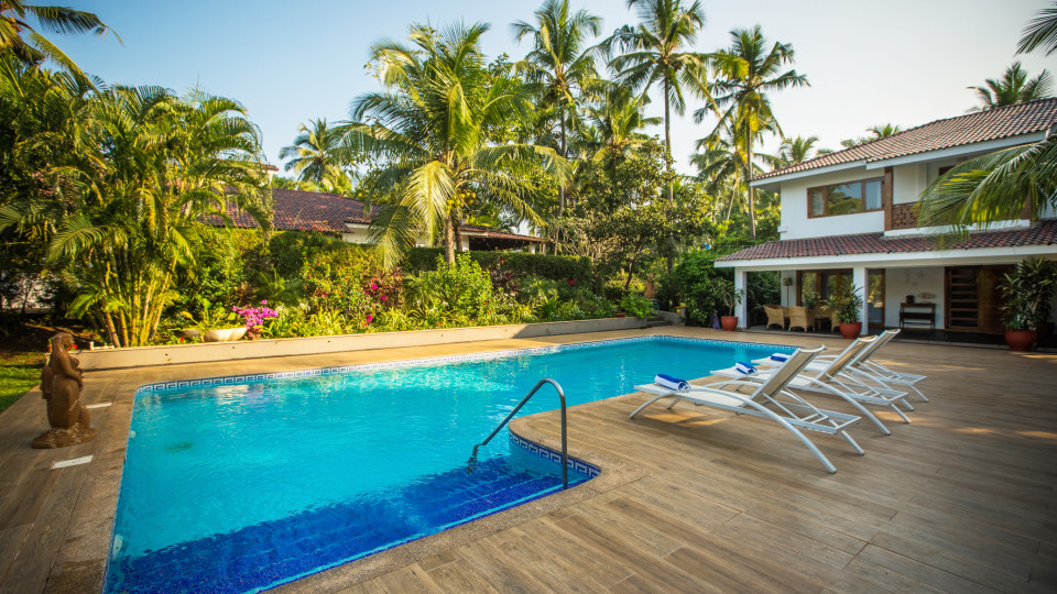 Hamsa Villas Goa, Best Resort In Goa, Pool 2