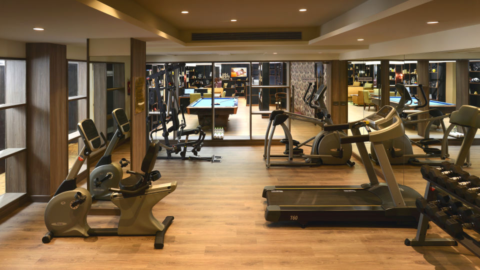 gym The Muse Sarovar Portico Kapashera New Delhi