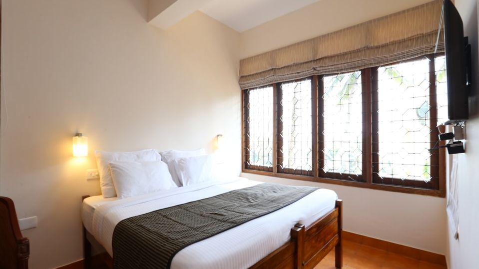 Hotels near Kovalam beach, Budget villas near Kovalam beach, best budget rooms in Kovalam 19