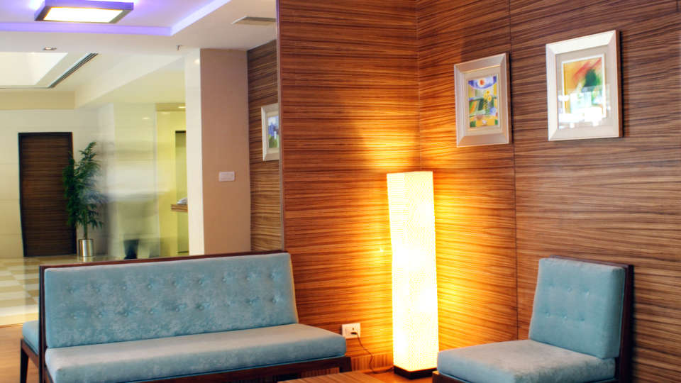 Lobby at Aditya Hometel Hyderabad, hotels in hyderabad