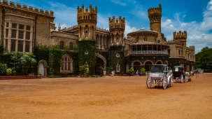 Bangalore Palace near Blupetal Hotel