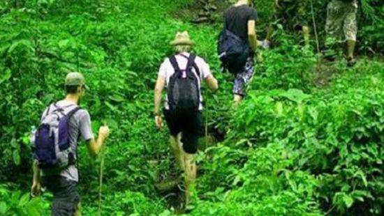Trekking in Jim Corbett reserve
