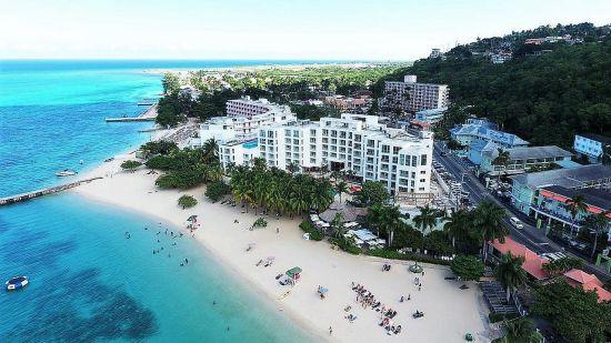 Aerial View, S Hotel Jamaica